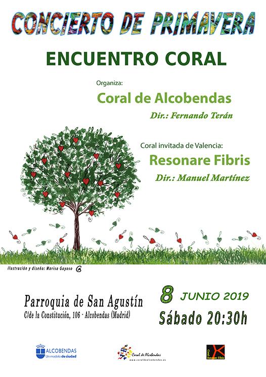 Encuentro de Corales en la Iglesia de San Agustín de Alcobendas