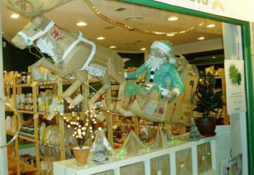 Campa�a de Dinamizaci�n del Comercio Urbano en Sanse durante la Navidad