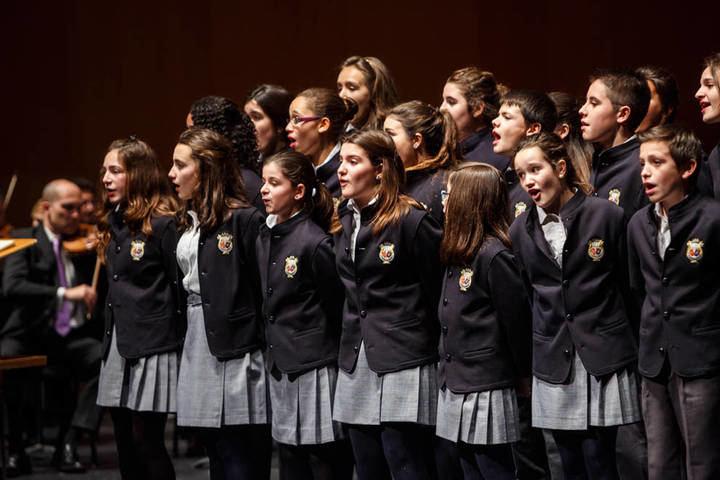 Concierto de La Escolanía Orfeón Pamplonés en Alcobendas