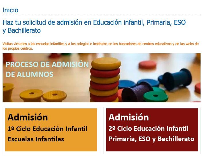 Alcobendas promueve visitas virtuales para la escolarización, que es del 19 de mayo al 5 de junio