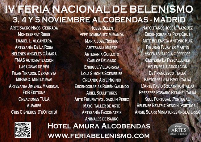 IV Feria Nacional de Belenismo en Alcobendas