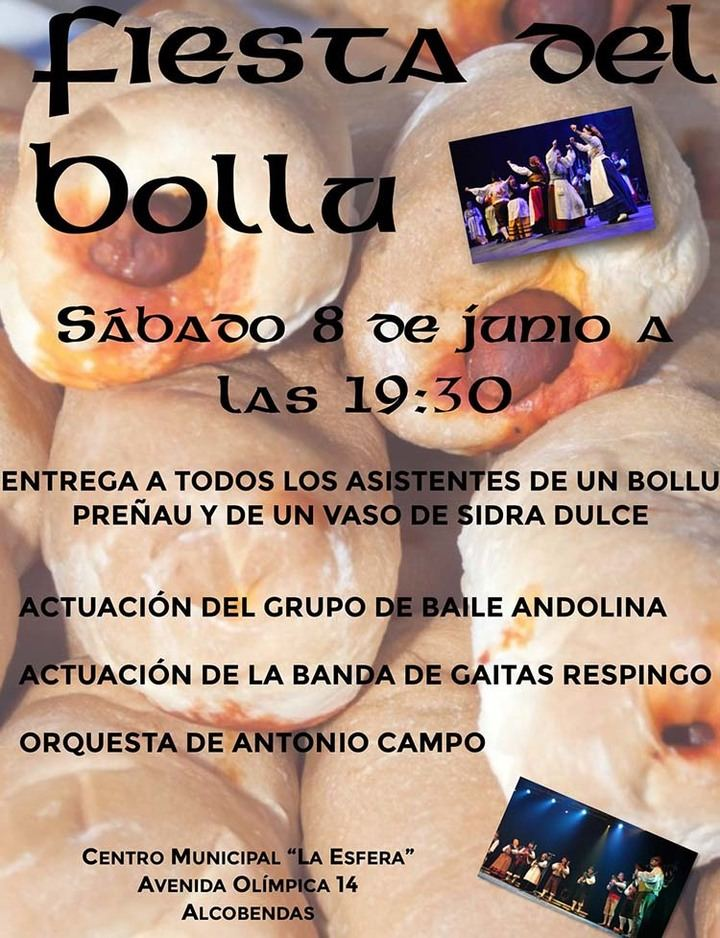 Fiesta del Bollu en Alcobendas