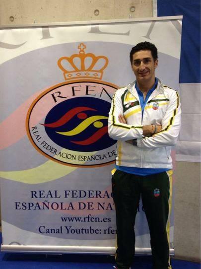 Imagen del Nadador Javier Sanz Martínez