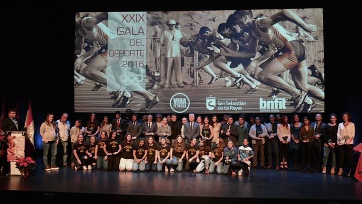 Imagen de la XXIX Gala del Deporte celebrada el año pasado en el Teatro Adolfo Marsillach