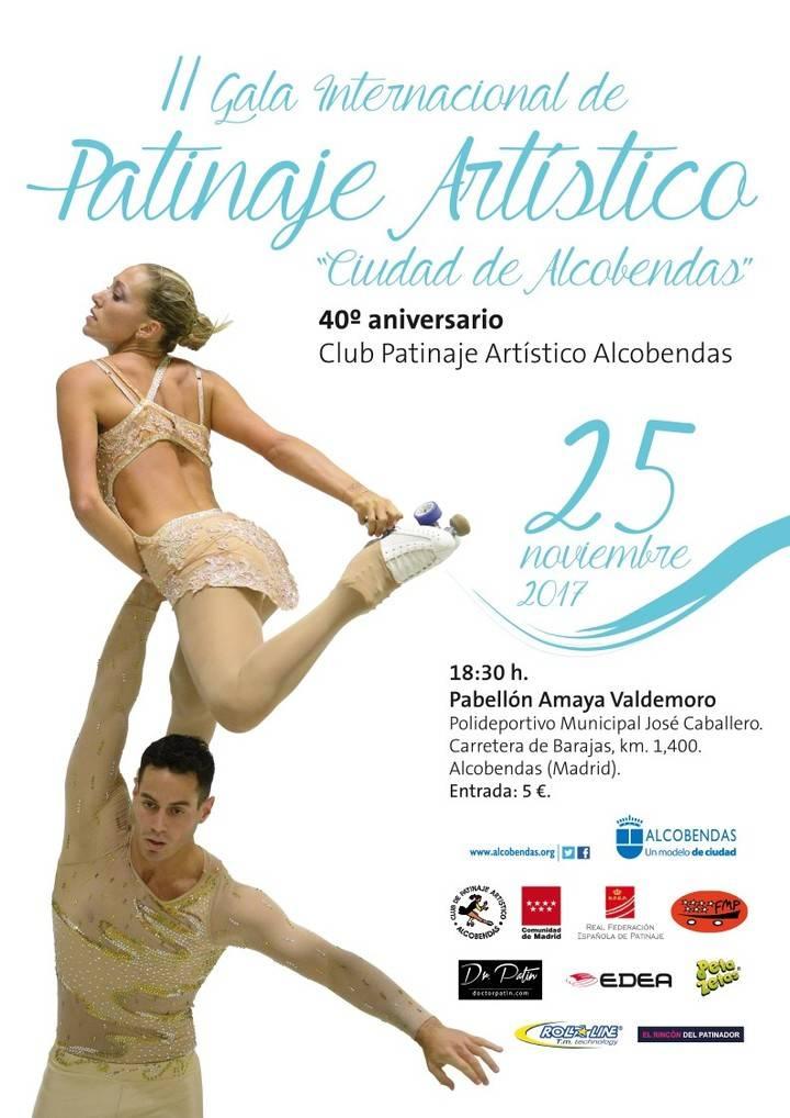 La élite del patinaje artístico Internacional se cita en Alcobendas