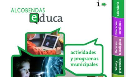 La Guía Alcobendas educa se pasa al formato digital