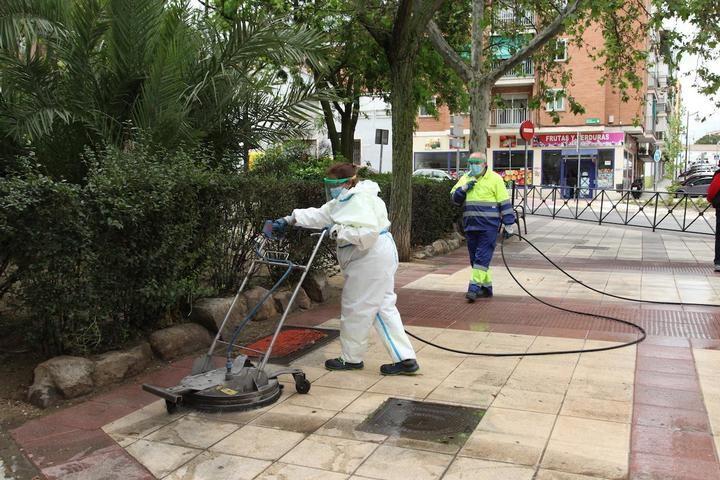 Alcobendas incorpora tres máquinas hidrolimpiadoras para garantizar la limpieza en las calles