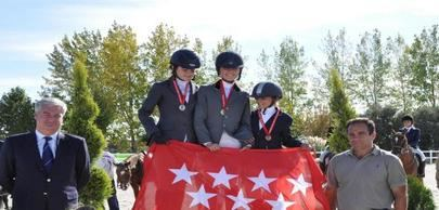 Campeonato de Madrid de Ponis y Escuelas en La Moraleja