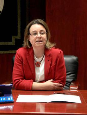 Imagen de la Concejal Delegada de Medio Ambiente, Mantenimiento y Relaciones Institucionales, Mar�a Jose Ort�z Iglesias de Ussel