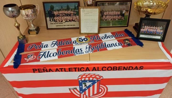 Exposición de la Peña Atlética Alcobendas por su 50 aniversario