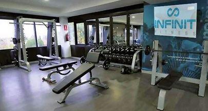 Imagen del interior del gimnasio Infinit Fitness La Moraleja