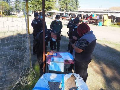 Policía Local y Guardia Civil desmantelan conjuntamente una fiesta ilegal