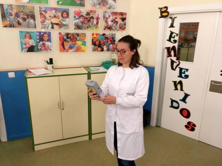 Los Sauces garantiza la calidad del Aire a los alumnos de la Escuela Infantil