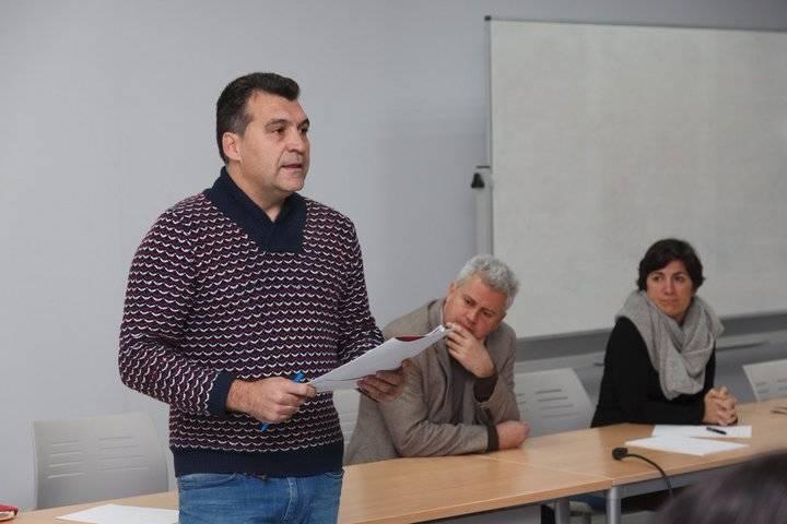 Imagen del concejal de Ganemos Sanse y responsable del área de Recursos Humanos en el Gobierno de San Sebastián de los Reyes