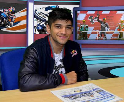 'Mi objetivo es ganar el Mundial de Moto3 el año que viene'