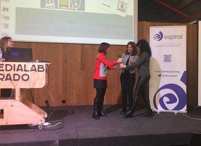 Imagen de la cuarta jornada 'Colaborar para Enseñar' celebrada el sábado 20 de enero en el centro Medialab-Prado de Madrid