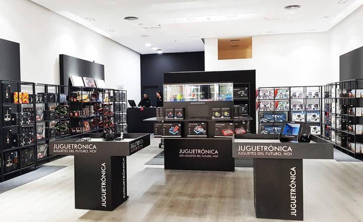 Jugetrónica abre en el centro comercial Moraleja Green