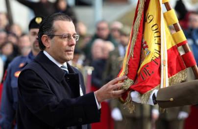 Jura de Bandera para civiles en la Plaza Mayor de Alcobendas