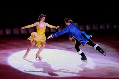 La Bella y la Bestia On Ice en el TAM de Sanse