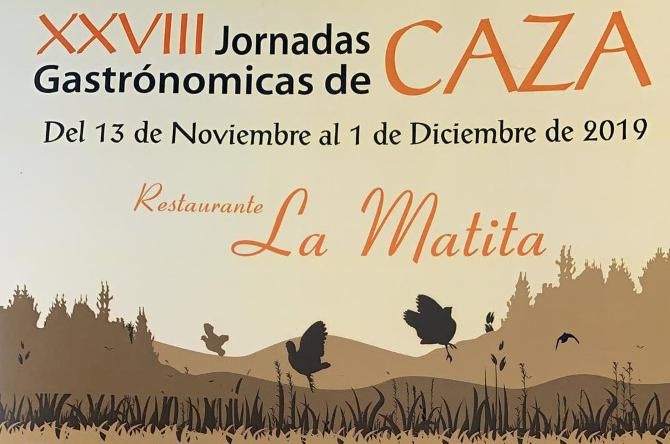 XVIII Jornadas Gastronómicas del restaurante La Matita de Segovia