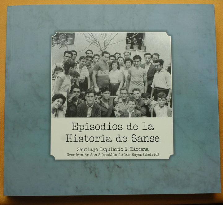 Santiago Izquierdo, presenta el libro Episodios de la Historia de Sanse