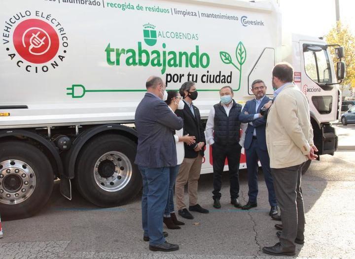 Acciona se hace cargo del contrato de limpieza en Alcobendas