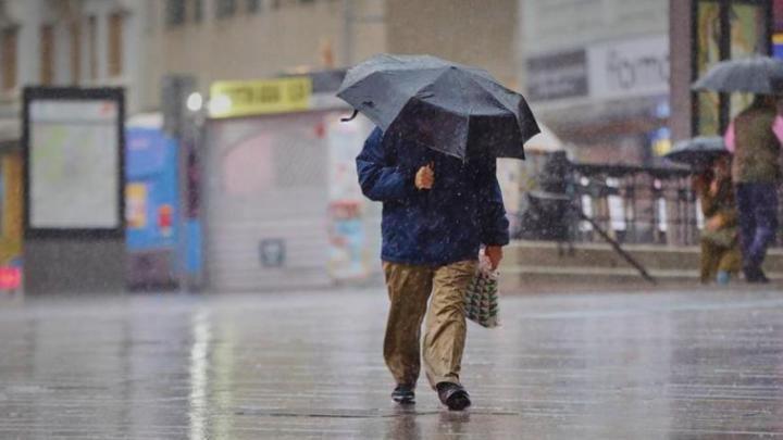 Aviso amarillo en toda la Comunidad de Madrid por fuertes lluvias