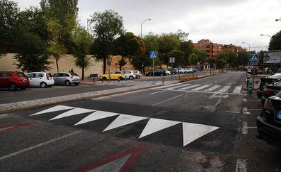 Colocados 5 nuevos lomos de asno en calles de las Urbanizaciones de Alcobendas