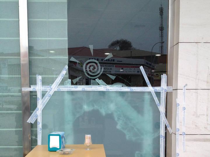 Tercer alunizaje al mismo restaurante en el polígono industrial de Alcobendas
