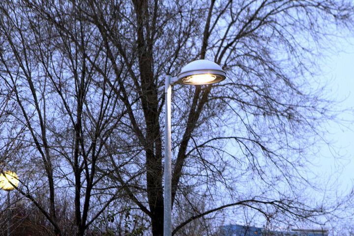 Cambio de las lucernarias del alumbrado público