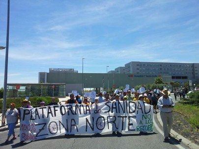 Vecinos de Sanse y Alcobendas se manifiestan por situación sanitaria de sus municipios