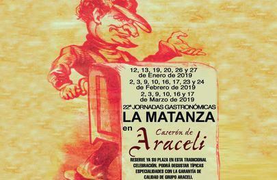 Vuelven las Jornadas gastronómicas de la Matanza al restaurante Araceli