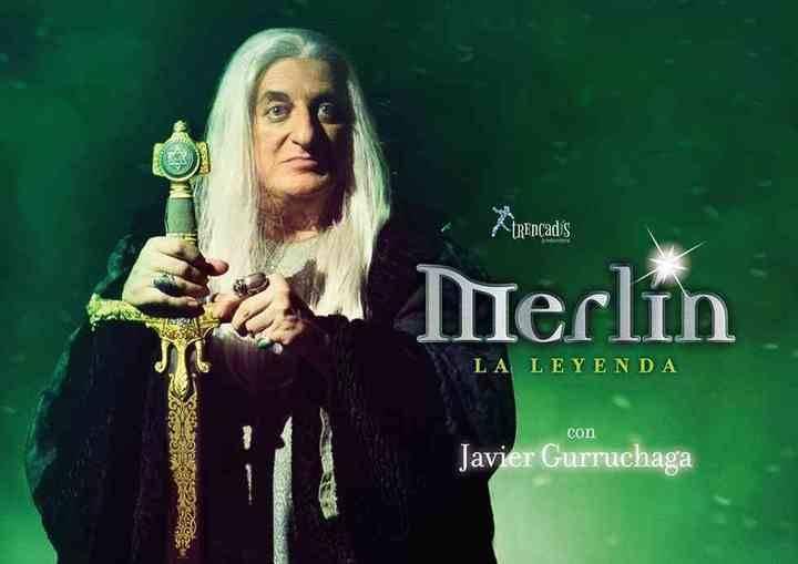 Javier Gurruchaga protagonzia Merlin, un Mago de Leyenda