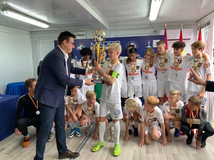 Los suecos del IF Brommapojkarna ganan la Madrid Football Cup 2019