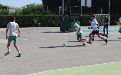 Foto de la IV Moraleja Cup publicada por el colegio Los Sauces en su página web