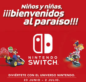 Disfruta de la Nintendo Switch en Plaza Norte 2