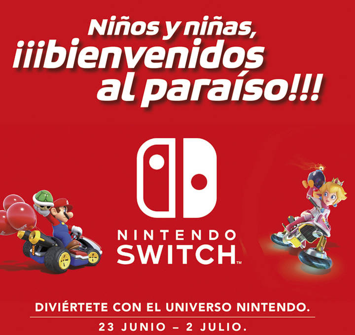 Disfruta de la Nintendo Switch en Plaza Norte 2