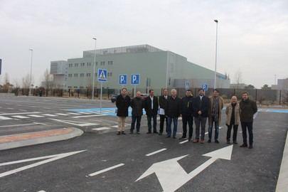 Abierto el aparcamiento disuasorio en el Hospital Infanta Sofía