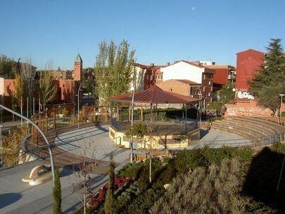 Imagen del Parque de Cataluña de Alcobendas donde el Ayuntamiento de Alcobendas va a colocar la nueva zona canina.
