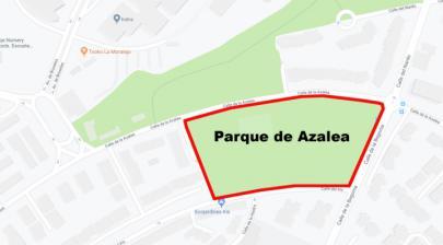 Presunto suicidio en el Parque de Azalea