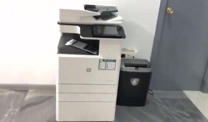 Miguel Ángel Martín Perdiguero se obsesiona con la fotocopiadora