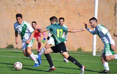 Imagen realizada por el Periso C.F y que corresponde al partido disputado contra el Rayo Alcobendas el pasado domingo, 26 de enero