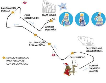 La Cabalgata de Reyes Magos de Alcobendas será geolocalizable