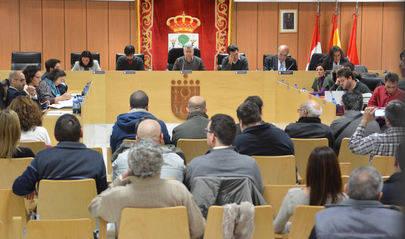 Imagen de la sesi�n plenaria donde se han aprobado los presupuestos y celebrada el mi�rcoles 3 de febrero