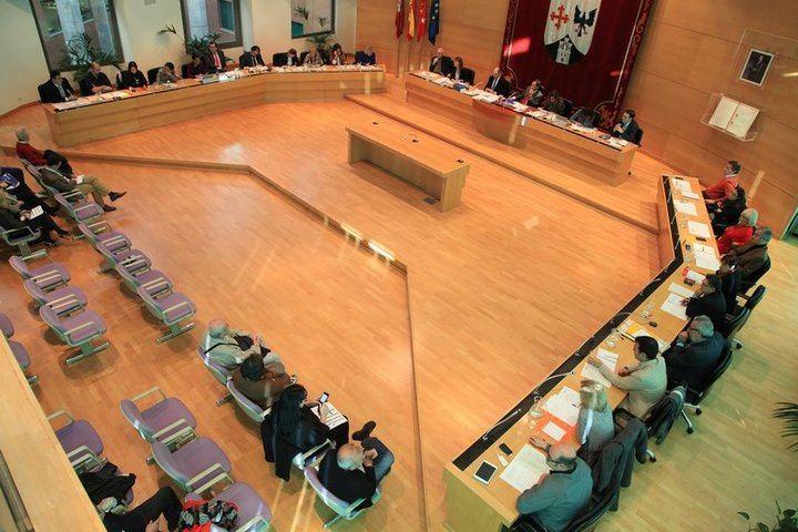 Imagen de una sesión plenaria de Alcobendas