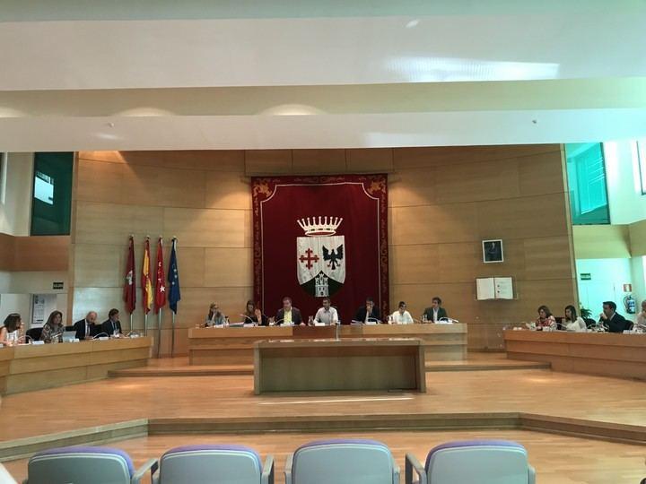 Primer pleno de la nueva corporación municipal de Alcobendas