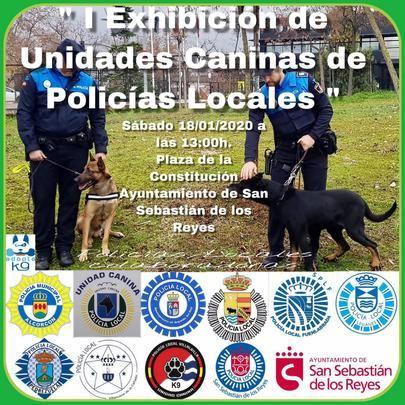 Exhibición Canina de Policías Locales en Sanse