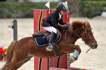Concurso Nacional de Ponis en el Club Hípica La Moraleja