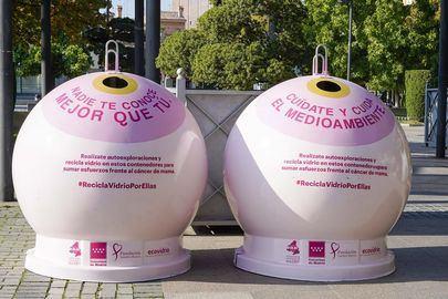 Contenedores para luchar contra el cáncer de mama