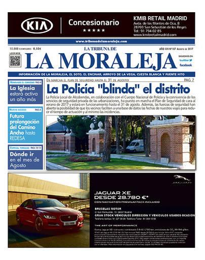 Ya esta en la calle el número de Agosto de La Tribuna de La Moraleja